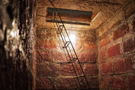Lumiere former underground fermentation tanks